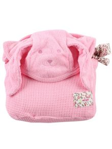 Girls Extra Large Hooded Towel - Puppy