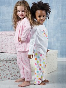 Girls winter pyjamas