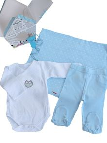 Newborn Gift - Clothing & Blanket Set