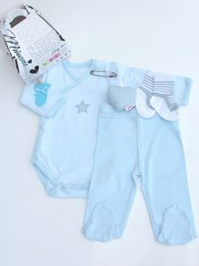 Minene Newborn Gift- Bodysuit, Trousers & Socks