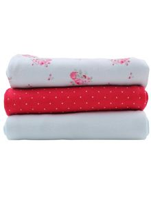 Girls Soft Cotton Dribble Cloths