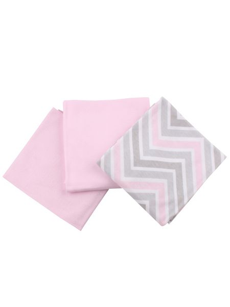 Minene Girls Soft Cotton Dribble Cloths