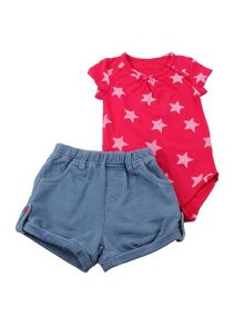 Minene Baby Girls 2 Piece Summer Sets