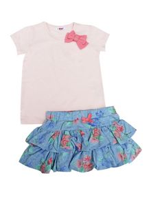 Minene Girls T-shirt and Skirt