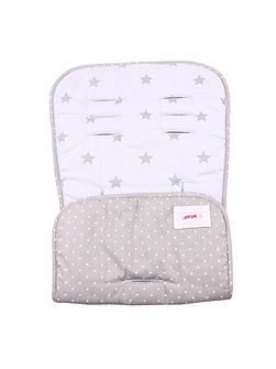 Blue Stars Pushchair Liner