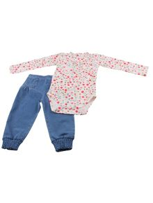Minene Baby Girls Bodysuit & trousers