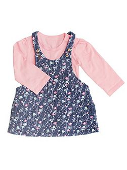 Baby Girls Pinafore & Bodysuit