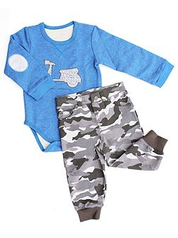 Baby Boys Bodysuit & trousers