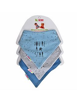 Baby Boys Bandana Bib Set