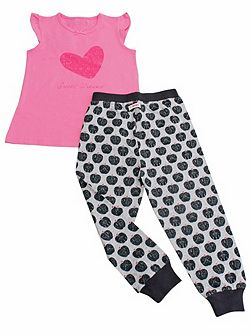 Girls Sweet Dreams Summer pyjamas