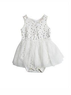 Girls Bodysuit Tutu Dress