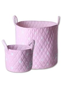 Minene Girls Storage Basket Set