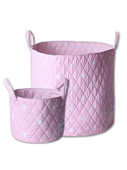 Girls Storage Basket Set