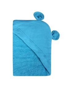 Minene Turquoise Animal Hooded Towel