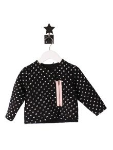 Minene Girls Black Star Jacket