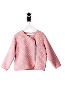 Minene Girls Pale Pink Star Jacket