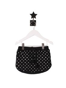 Minene Girls Black Star Skirt