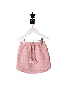 Minene Girls Pale Pink Star Skirt