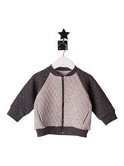 Boys Grey Speckled jacket