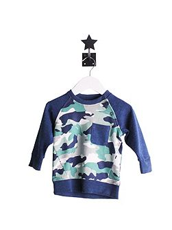 Boys Camouflage Jumper