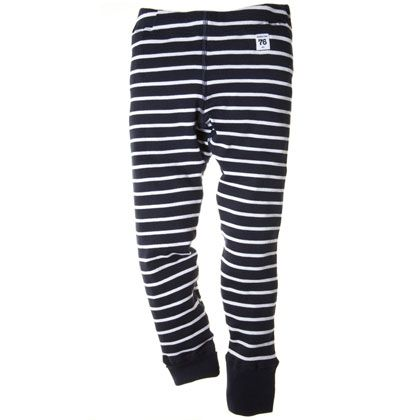 PO.P stripe extendable leggings