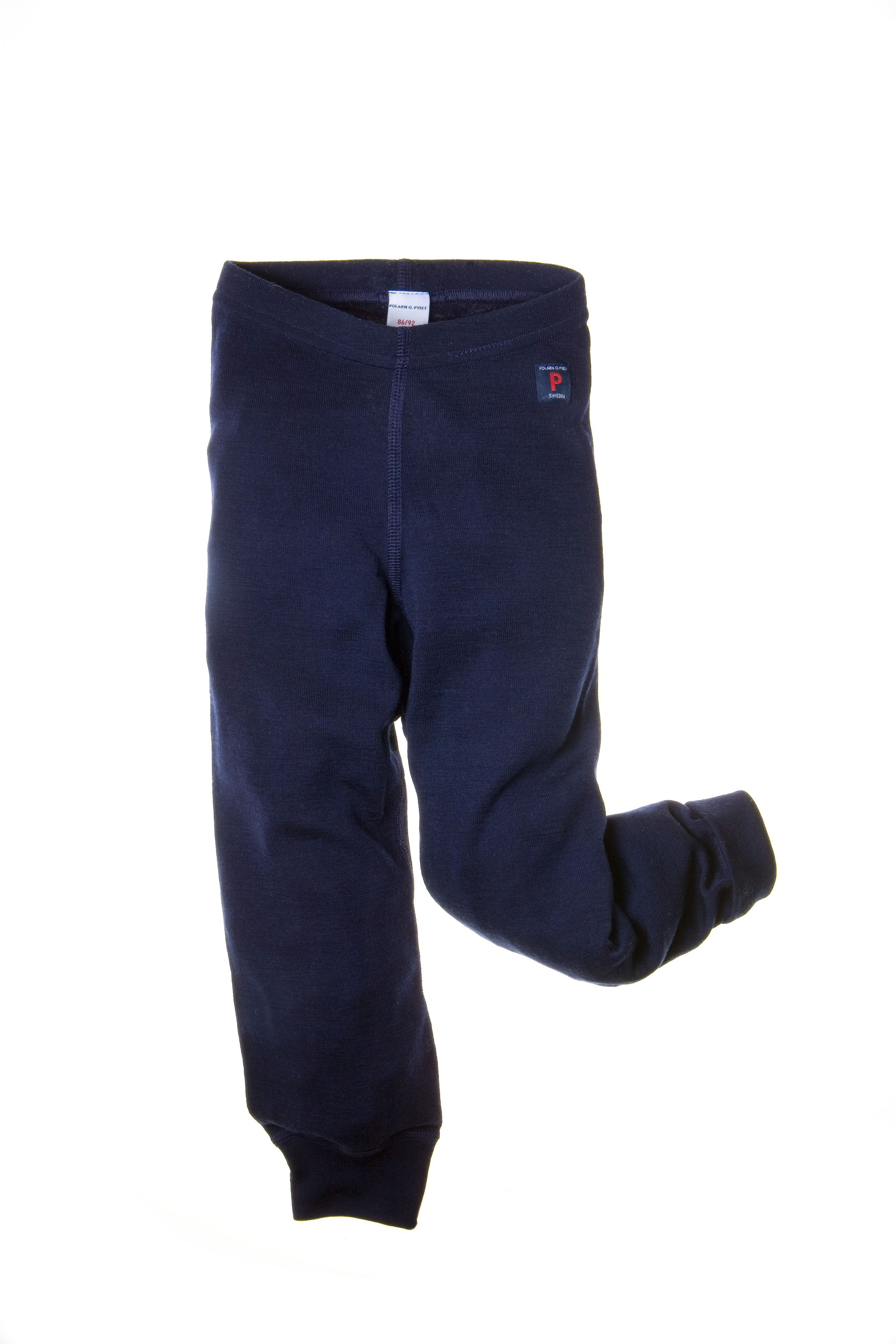Toddler thermal merino longjohns