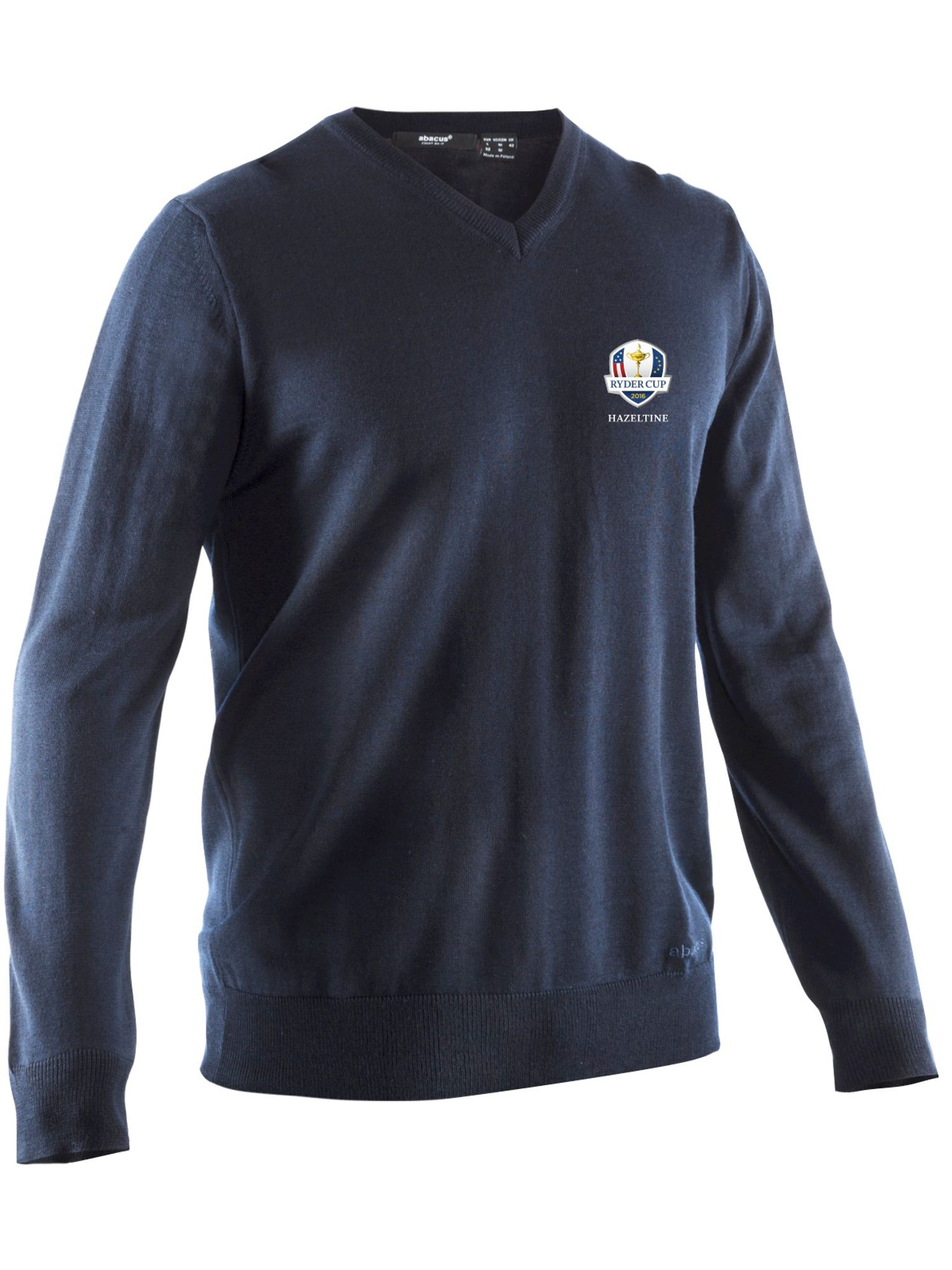 Abacus Men's Abacus Milano Ryder Cup Jumper, Navy