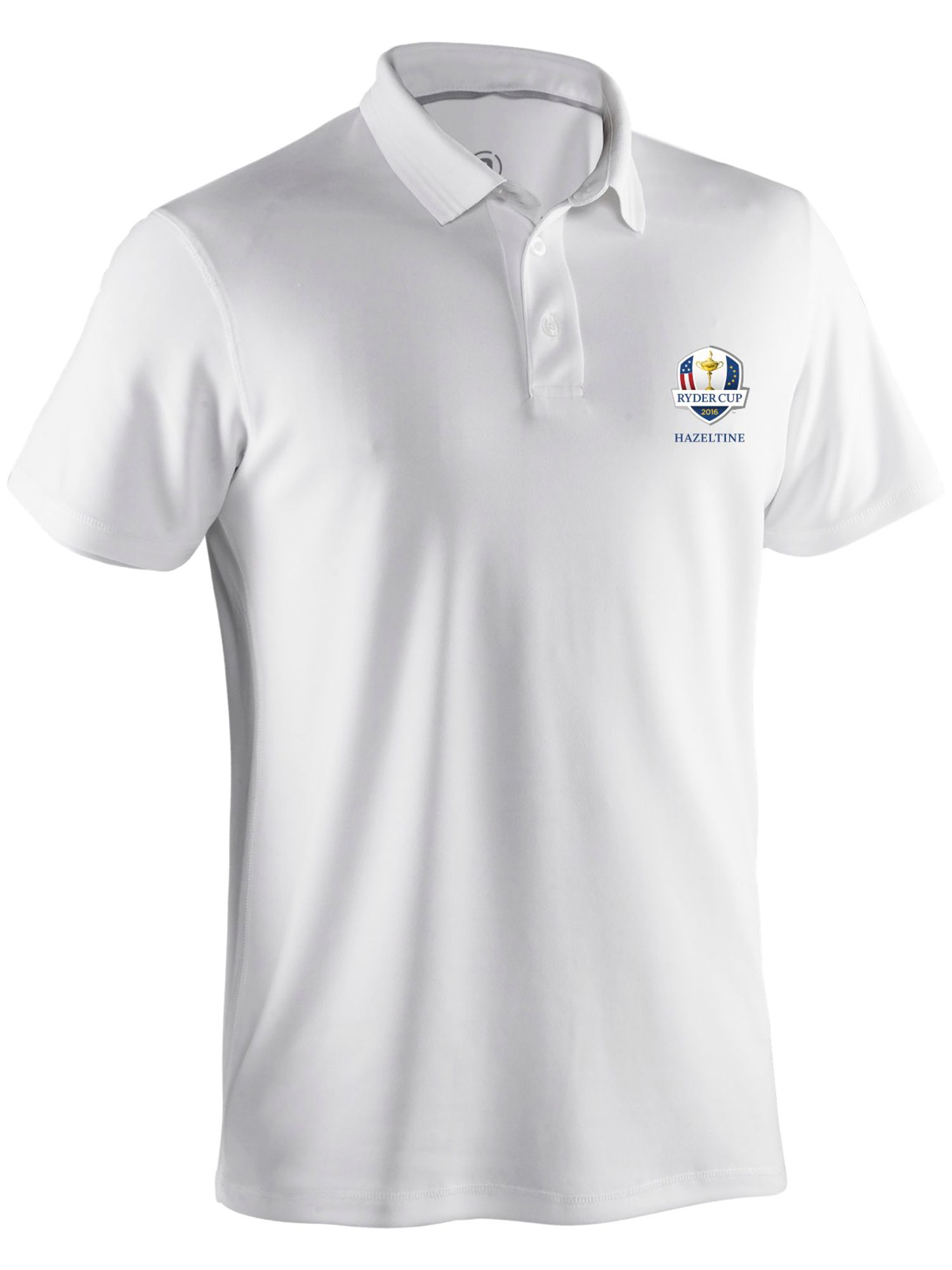 Abacus Men's Abacus Clark Ryder Cup Polo, White
