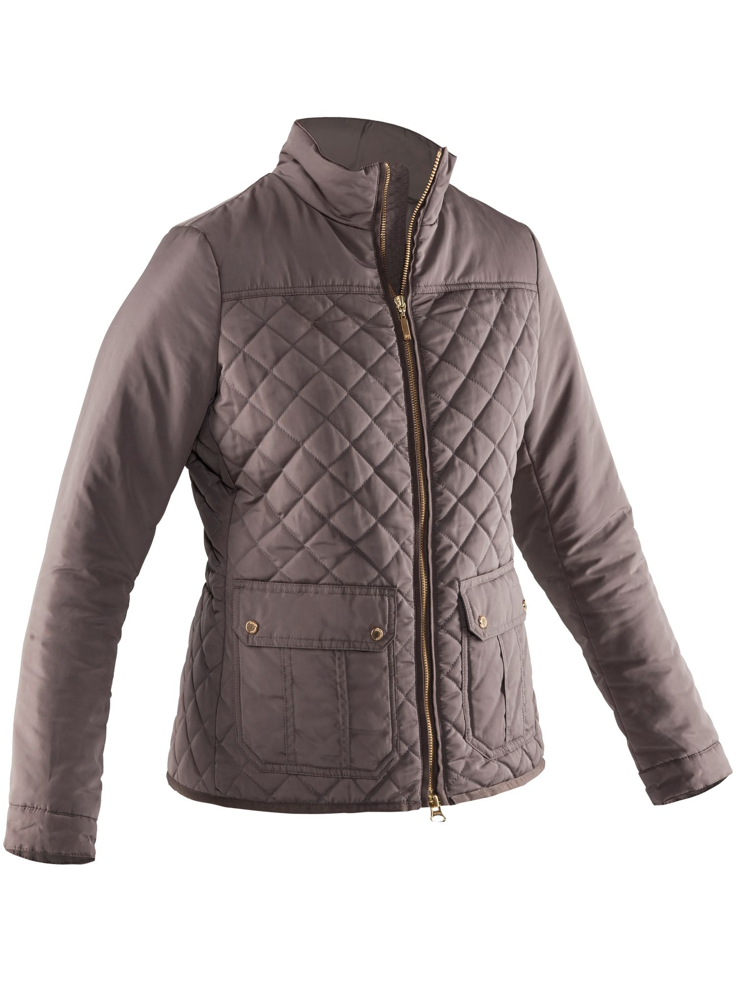 Abacus Holmen Quilted Jacket, Brown