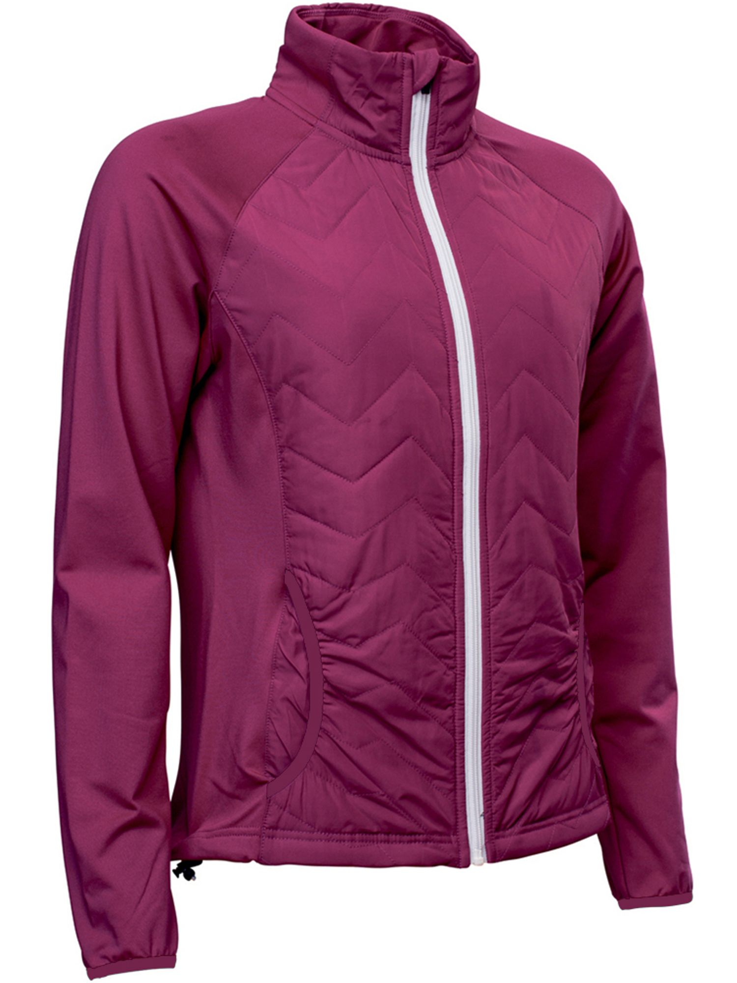 Abacus Hybrid Jacket, Purple