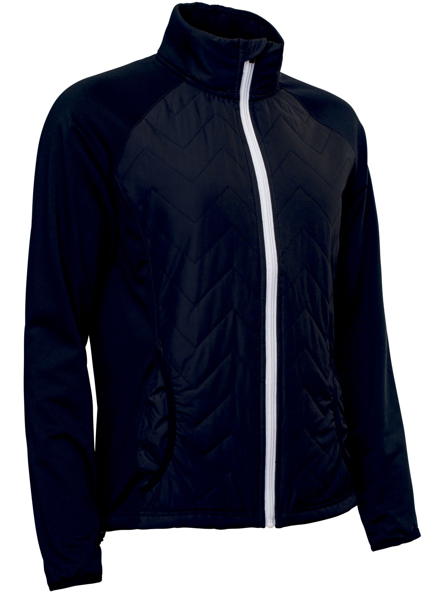 Abacus Hybrid Jacket, Black
