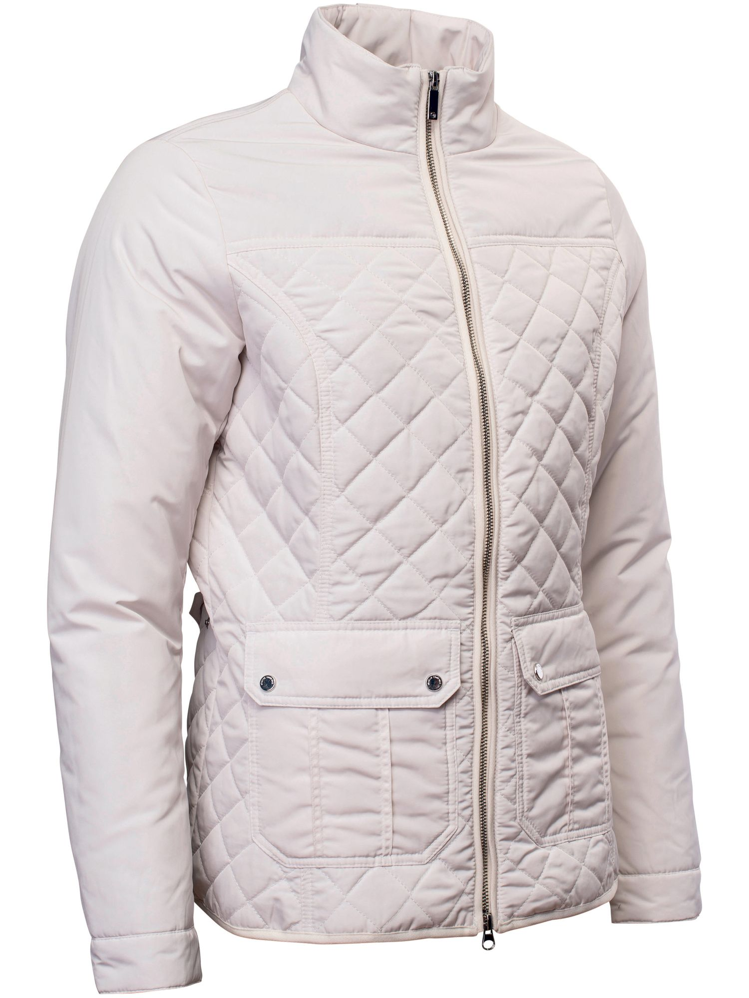 Abacus Holmen Quilted Jacket, White