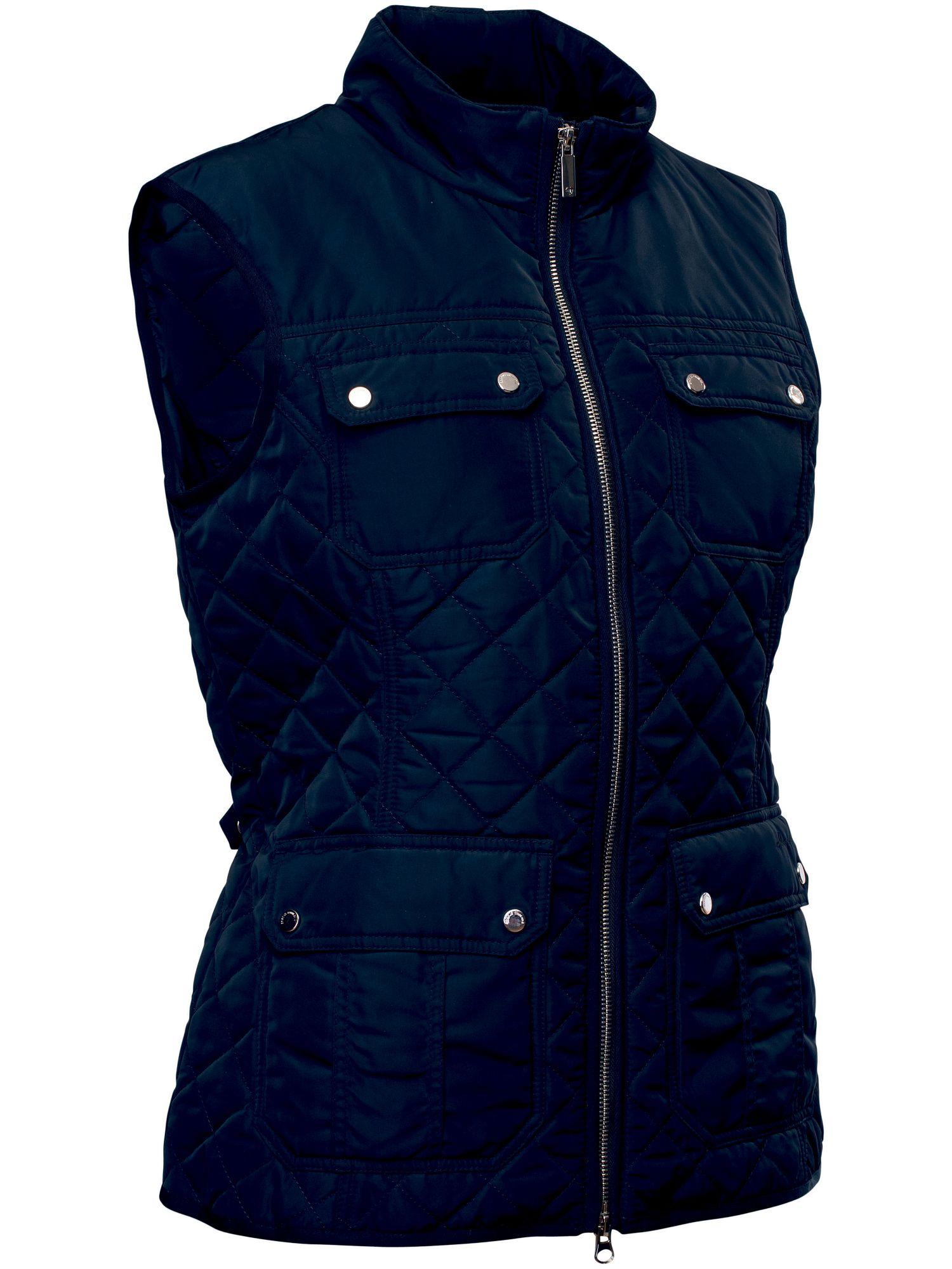 Abacus Holmen Quilted Gilet, Blue