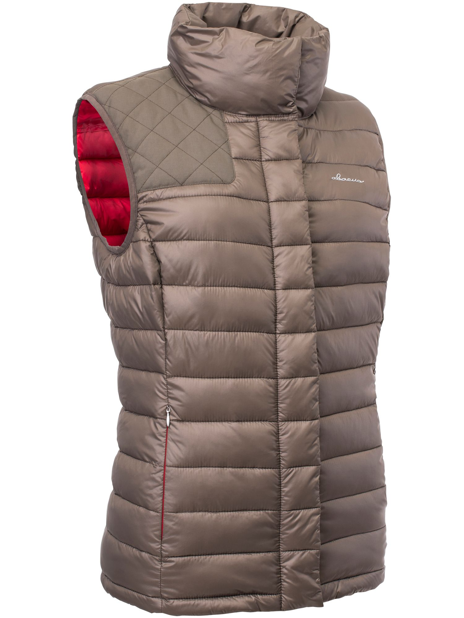Abacus Cornwall Downlook Gilet, White