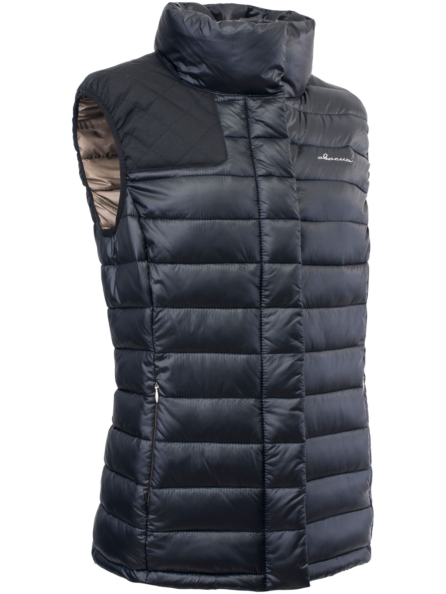 Abacus Cornwall Downlook Gilet, Black