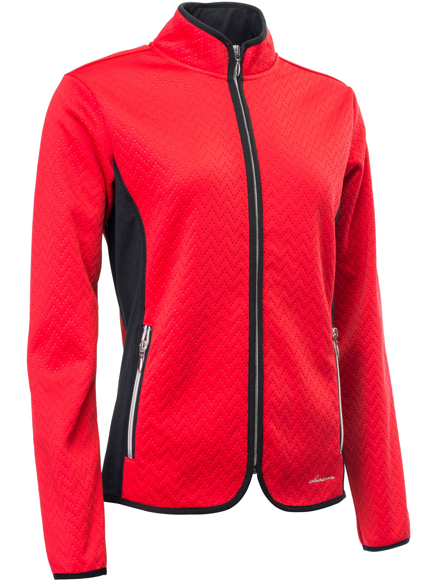 Abacus Abbey Fleece Jacket, Red