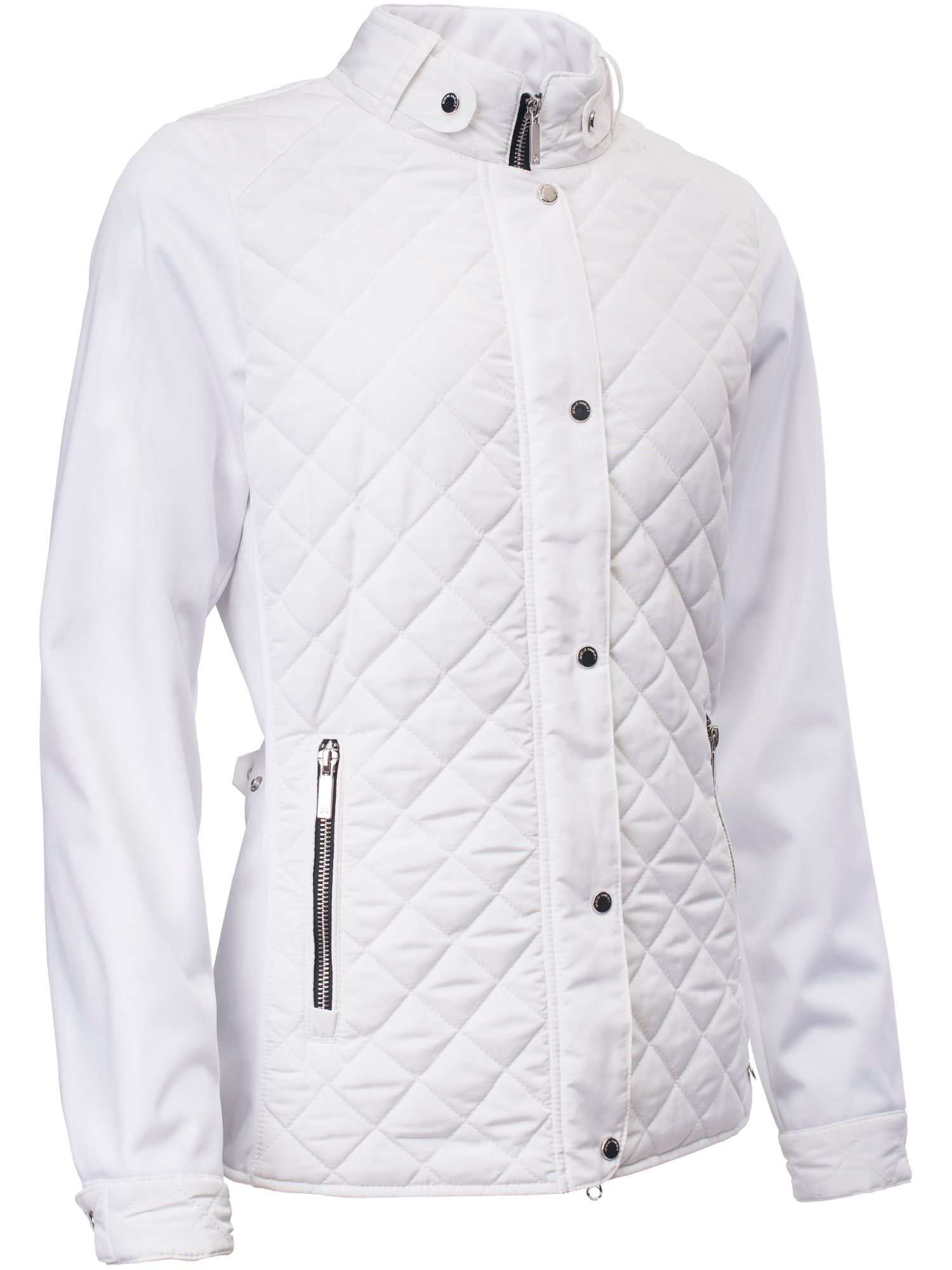 Abacus Winston Quilted Jacket, White