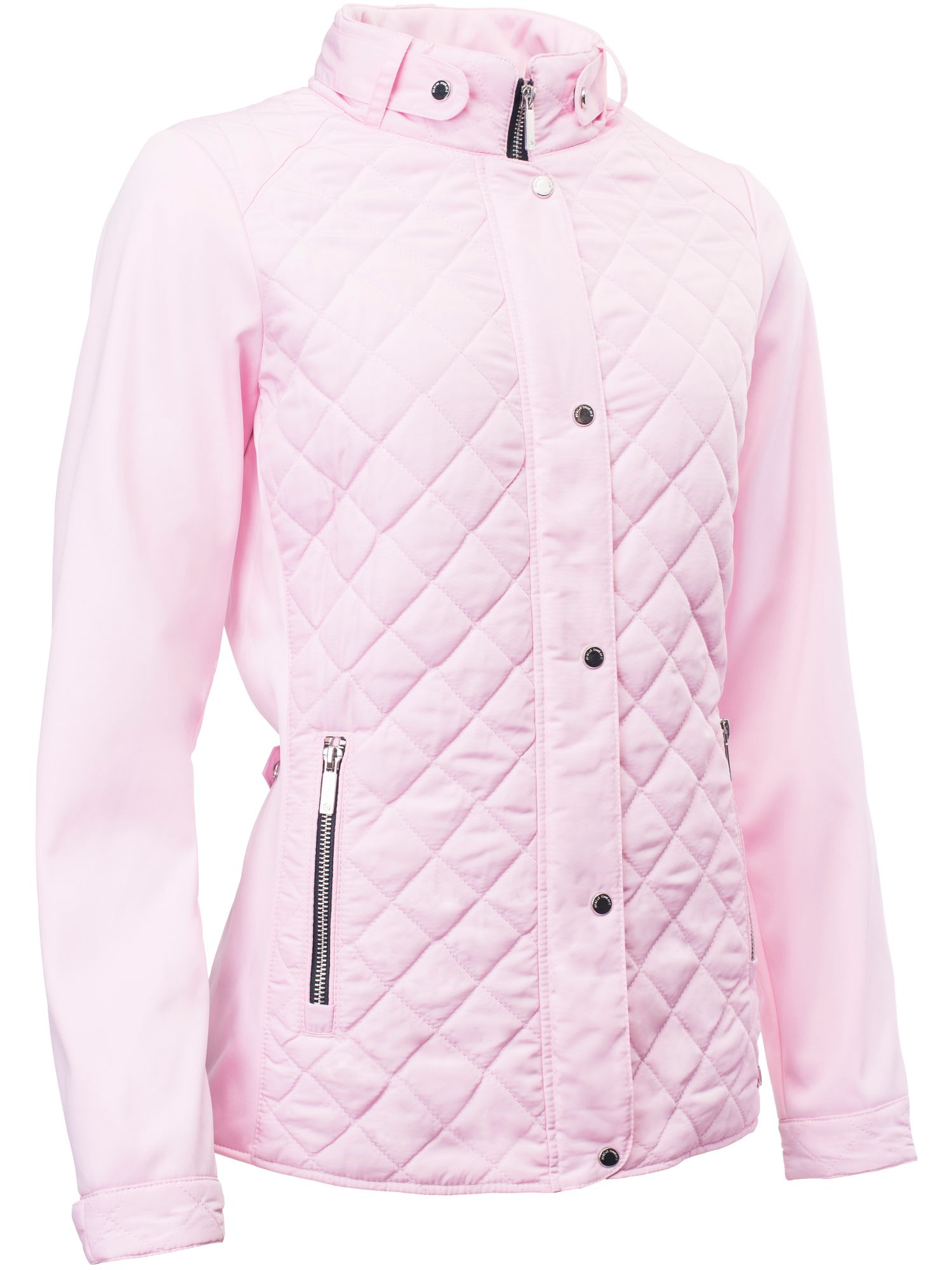 Abacus Winston Quilted Jacket, Pink