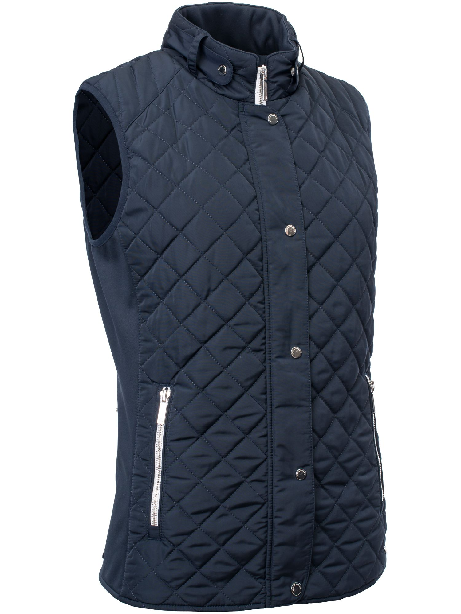 Abacus Winston Quilted Gilet, Blue