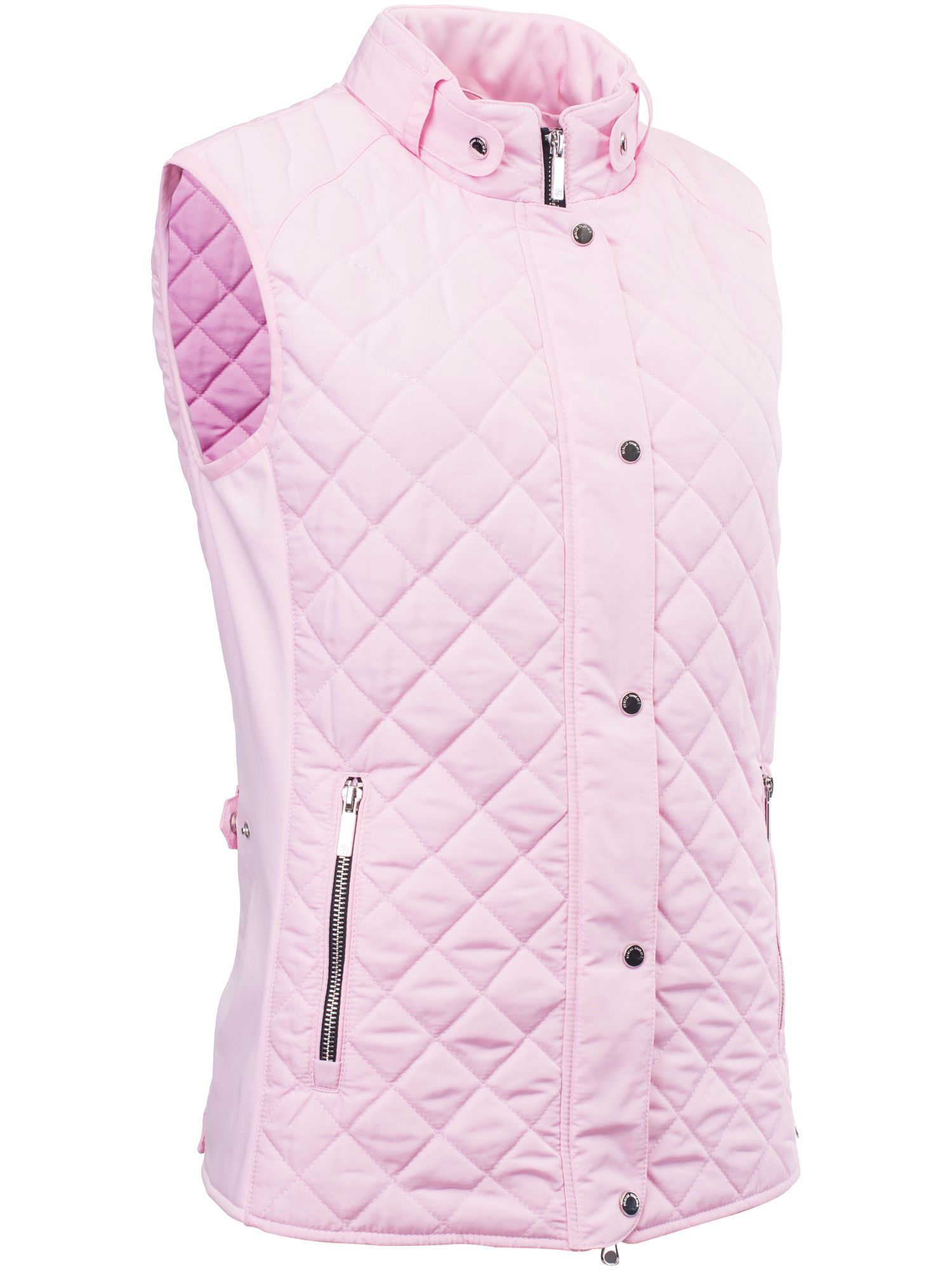 Abacus Winston Quilted Gilet, Pink
