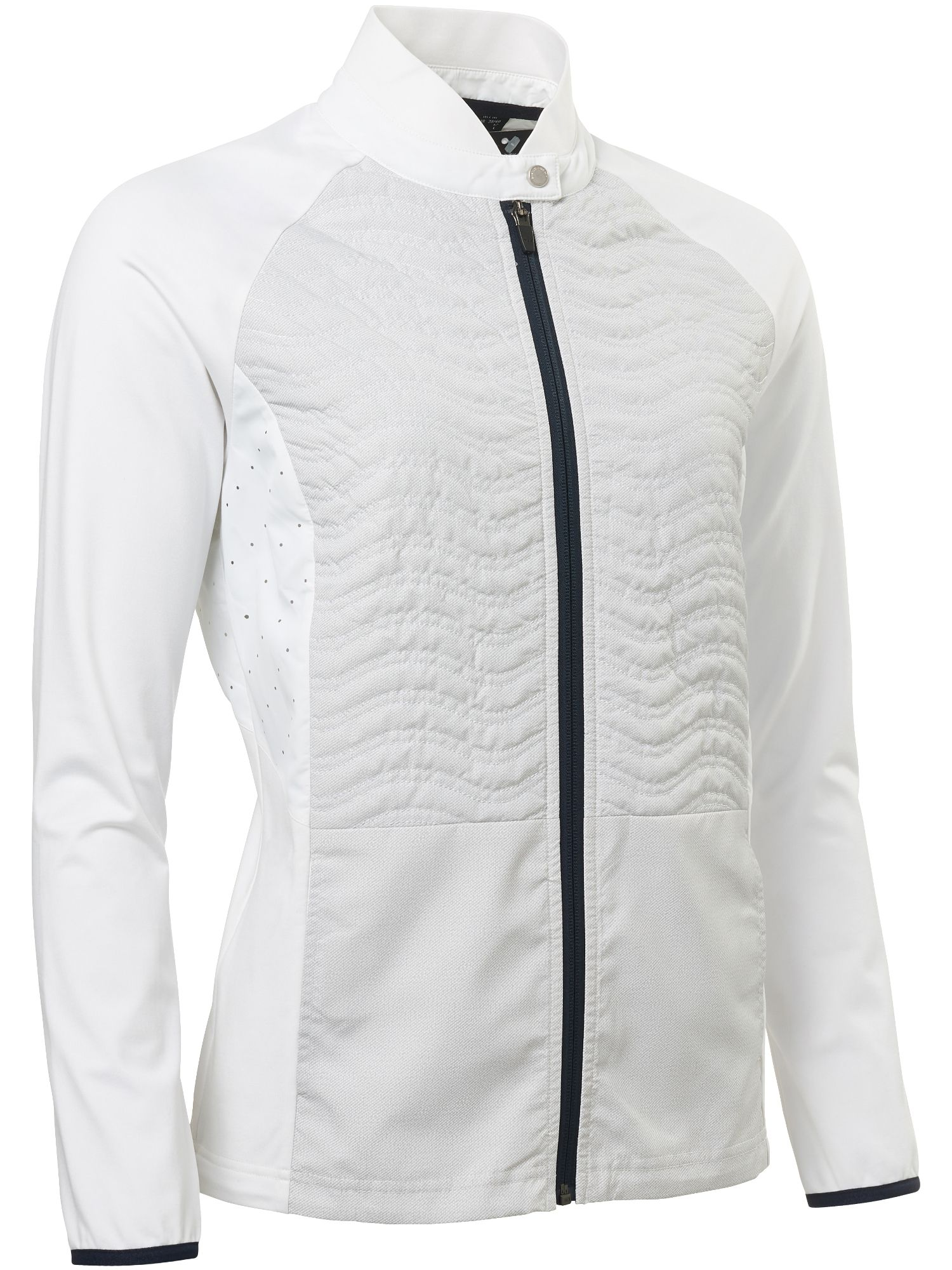 Abacus Troon Hybrid Jacket, White
