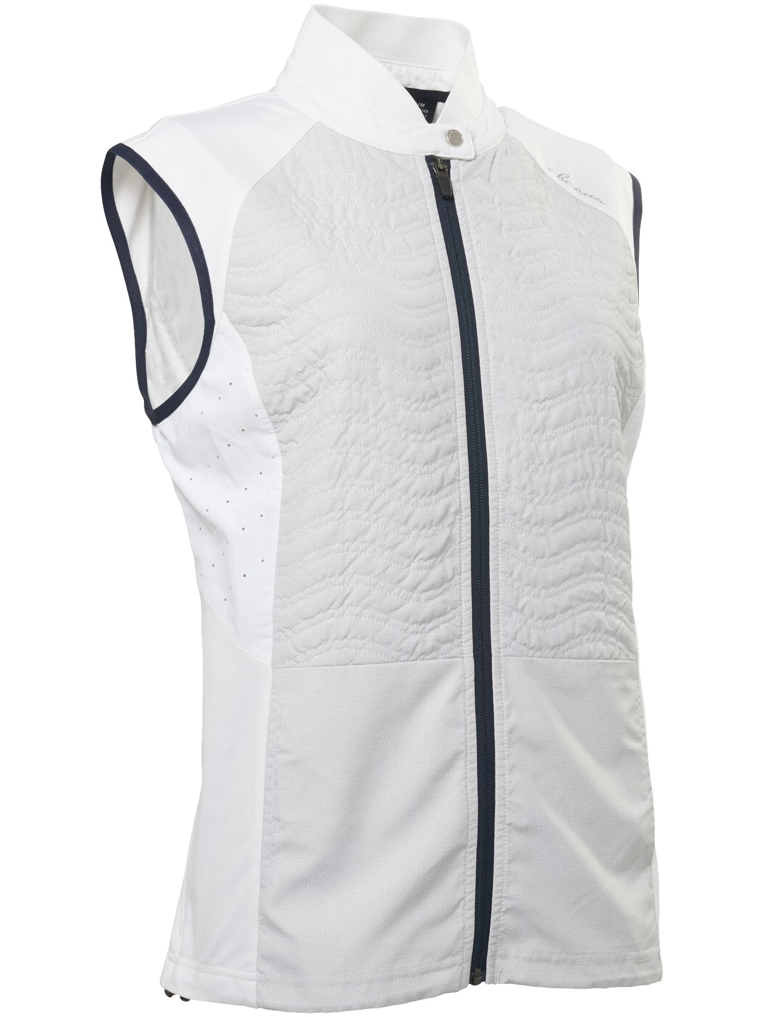 Abacus Troon Hybrid Gilet, White