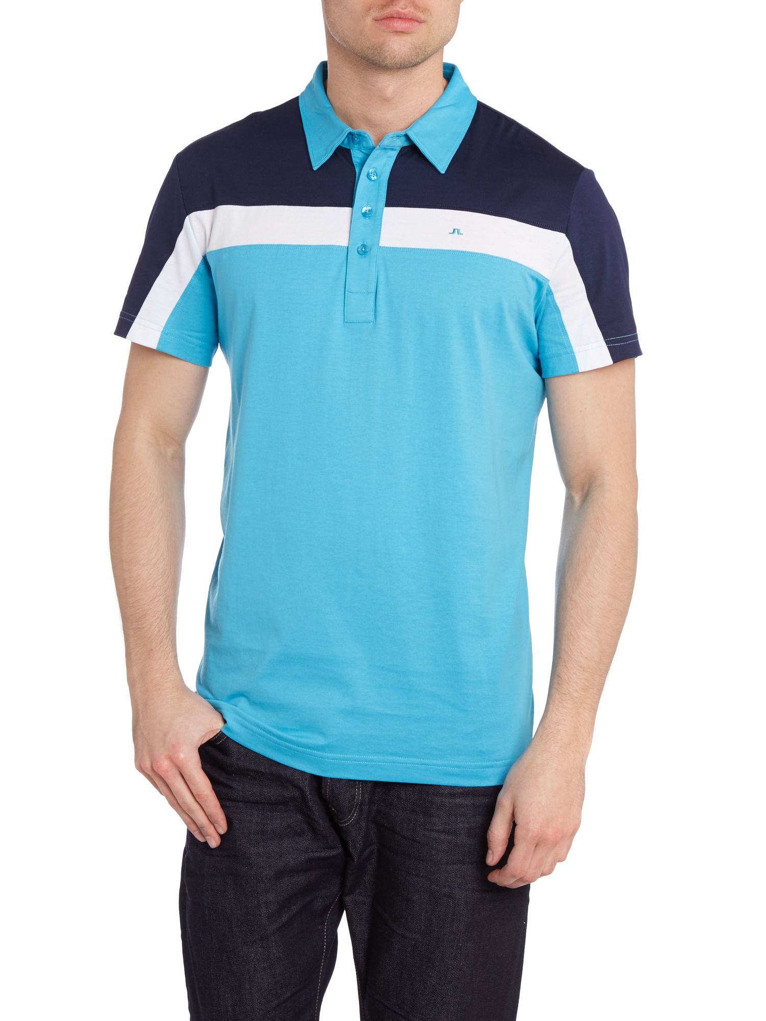 Chriss lux bridge polo shirt