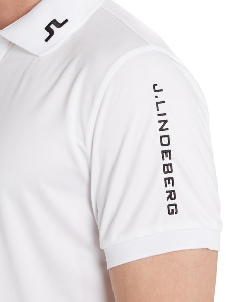 J Lindeberg Golf Tour tech tx polo shirt