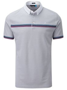 Rob Hybrid Pique Stripe Polo Shirt