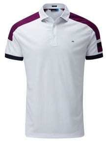 J Lindeberg Golf Arn Fieldsensor Slim Fit Polo Shirt