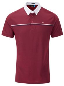 J Lindeberg Golf Rob Hybrid Polo