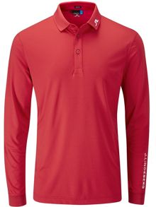 J Lindeberg Golf Tour Tech Long Sleeve Polo