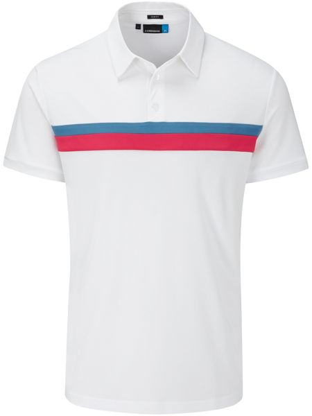 J Lindeberg Golf Noah Slim TX Polo