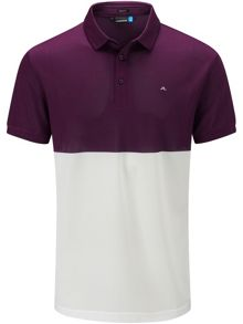 J Lindeberg Golf James TX Pique Polo
